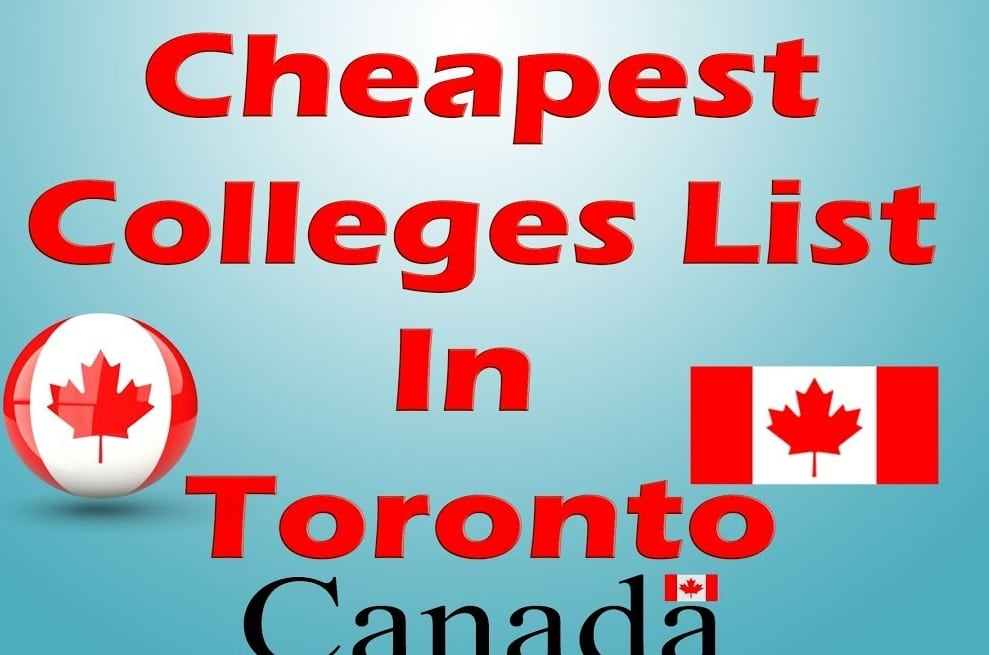 35+ Schools with Low Tuition Fees in Canada