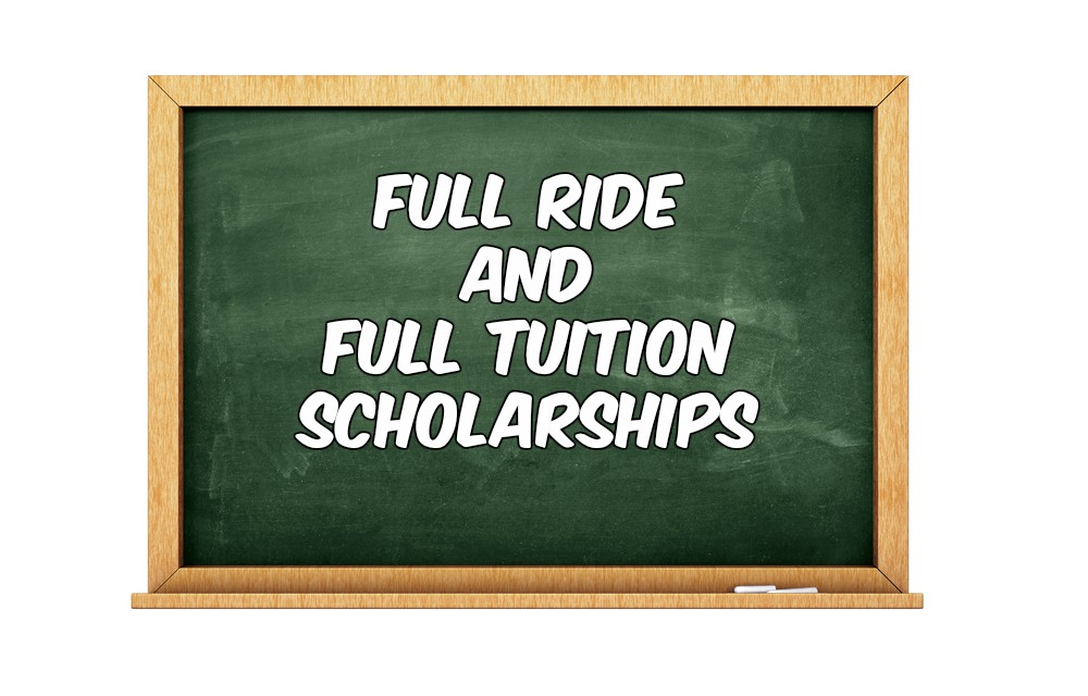 17+ Full Tuition Academic Scholarships 2021