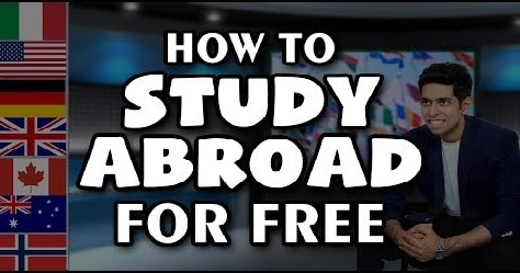 How to Study Abroad for Free in 2021-2022