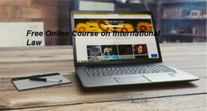 Free Online Course on International Law