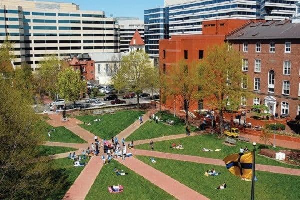 George Washington University for digital law degree
