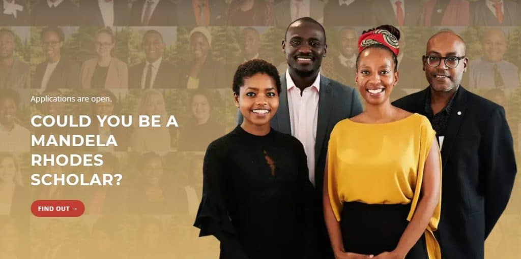 Mandela Rhodes Scholarship 2020-2021 for African Students (Fully Funded)