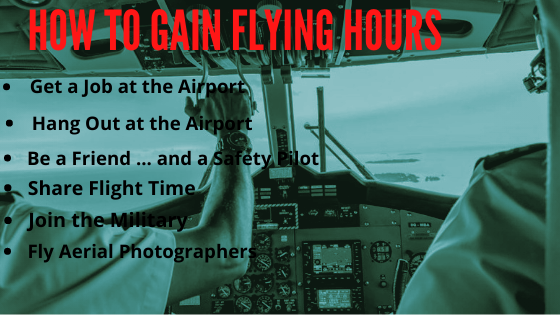 How to Gain Flying Hours