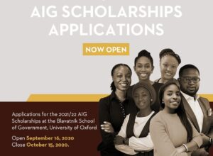 AIG Scholarships 2021-2022