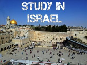 Study in Israel- best universities and scholarships in israel