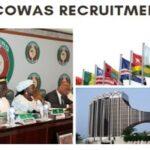 Economic Community of West African States (ECOWAS) Job Recruitment 2020