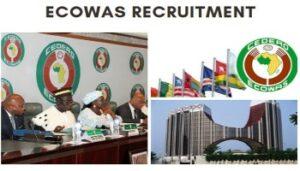 ecowas-JOB-recruitment