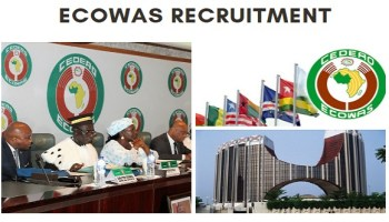 Economic Community of West African States (ECOWAS) Job Recruitment 2020