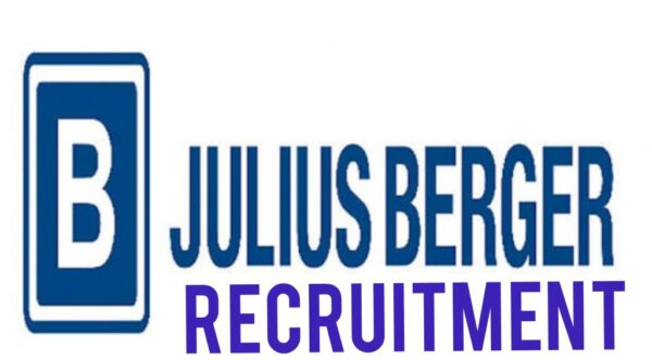 Julius Berger Nigeria PLC Internship & Exp. Job Recruitment (4 Positions)