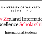 University of Waikato International Excellence Scholarships