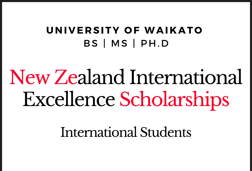 University of Waikato International Excellence ...