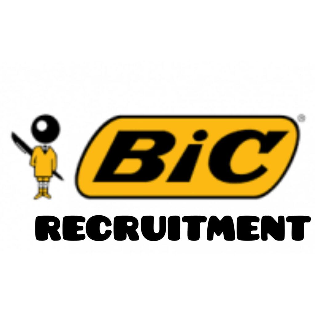 BIC Nigeria Job Recruitment (3 Positions)