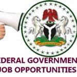 Federal Government of Nigeria Job Recruitment