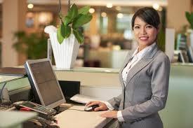 job description of a receptionist