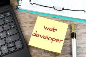 web-developer job description