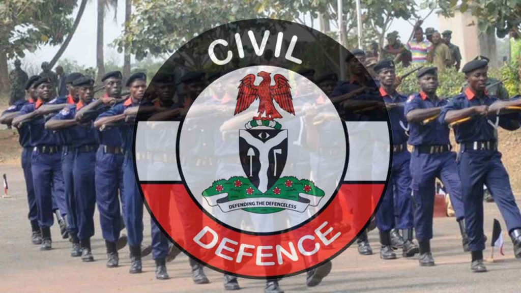 Nigeria Civil Defence Recruitment Shortlisted Candidates 2020/2021 PDF