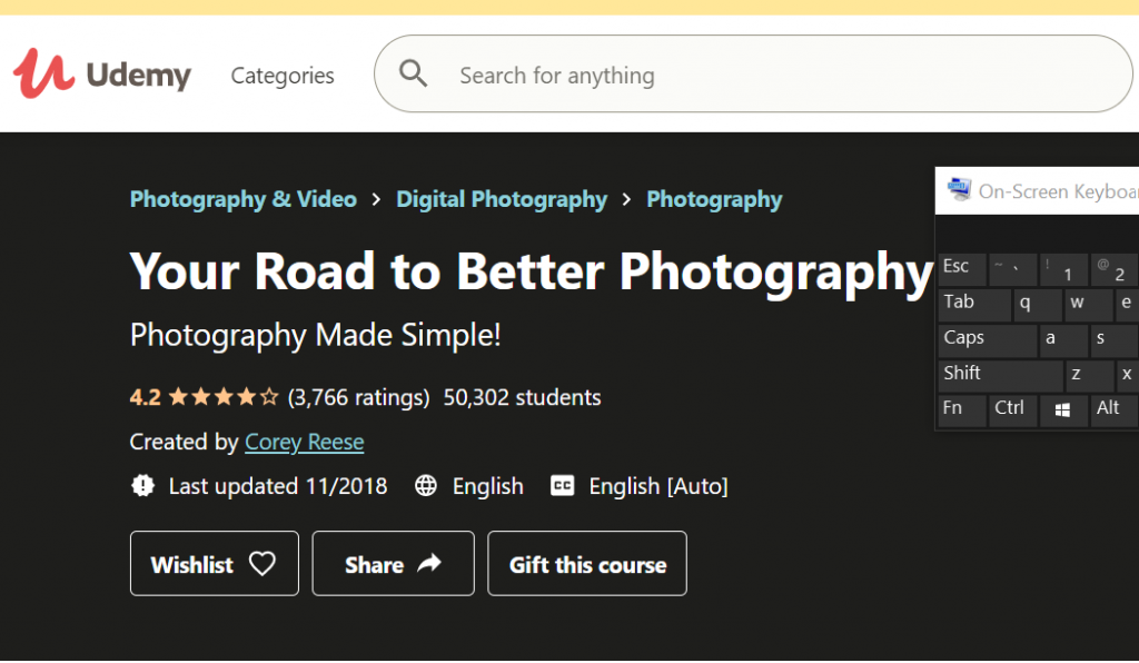 Your-road-to-better-photography-udemy-online-photography-course-for-beginners