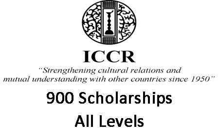 Indian Government (ICCR) Scholarships 2021/2022 for Under/Postgraduate African Students