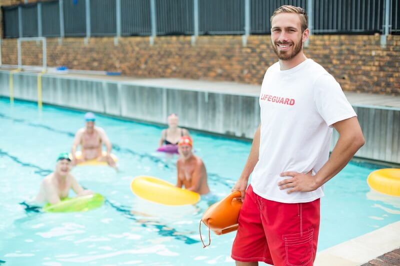 What is the job description of a lifeguard?