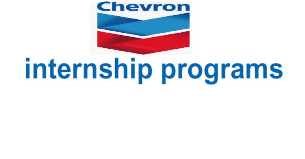Chevron Nigeria Limited Graduate Internship Program 2021 – 2022